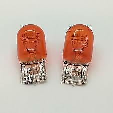 2 X Ring R585 12V 21W Amber Capless Indicator Bulbs