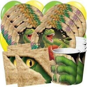 DINO BLAST Dinosaur Party Supplies Cups Plates Napkins Balloons Decorations Bafs