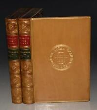 Baillie Cochrane Francis First in Captivity in Madrid 2 Vols Fine Binding 1870