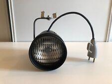 Pinspot noir mat 12V (220V) + ampoule General Electric 50W Par 36 WFL