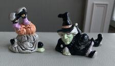 Set of2 Fitz and floyd halloween Figurines
