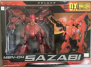 Bandai Mobile Suit 12 Inch DX Zeon Sazabi Gundam Action Figure Msia