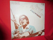 JOSE' FELICIANO Fireworks LP ITALY 1970 MINT- First Pressing Plays The Beatles