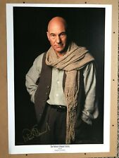 """Patrick Stewart 18"""" x 26"""" Lithograph signed RARE 209/295 Image One"""