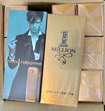 1 Million By Paco Rabanne 3.3 / 3.4 Oz EDT Cologne For Men New Seal In Box