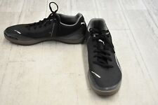 **Puma Invicto Fresh Indoor Soccer Shoes, Men's Size 8, Black DAMAGED