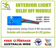 Interior Dome Light Delay Soft Off Fade Out Module -  AUSTRALIA