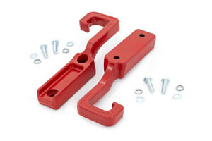 Rough Country Forged Red Tow Hooks for 2015-2019 Grand Cherokee WK2 - RS133