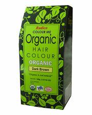Radico Organic Hair Colour - Dark Brown 100g