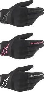 Alpinestars Women's Stella Copper Gloves - Motorcycle Street Riding Touch Screen