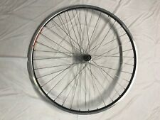 Rear 700c wheel with Mavic Open Pro rim and Shimano 600 7 speed hub
