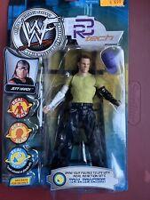 WWE R3 TECH JEFF HARDY REAL SCAN JAKKS WWF TNA BOYZ Matt Hardyz Hat series 2 NIB