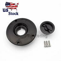 CNC Fuel Gas Cap For Kawasaki ZX6R 03-06/ZX-6RR 2006 ZX-9R 00-03/ZX-10R 04-05 US