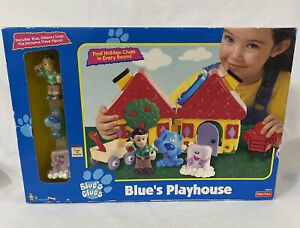 Fisher-Price VINTAGE 1998 BLUE'S CLUES PLAYHOUSE NEW IN BOX SEALED W/ STEVE!