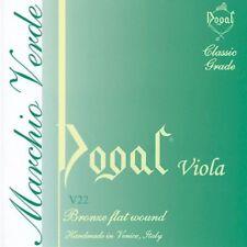 Dogal V22/Q Green Series 16 inch Viola Strings Set
