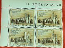 Quartina francobolli BICENTENARIO DELLA GERARCHIA ECCLESIASTICA NEGLI U.S.A. (2)