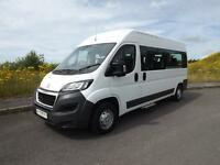 2015 Citroen Relay 9 Seat Wheelchair Accessible Minibus
