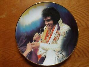 "Elvis Presley Plate ""Loving You"" By Susie Morton 1989"