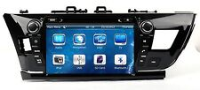 In Dash Car Stereo Radio BT CD DVD Player GPS Navigation For Toyota Corolla