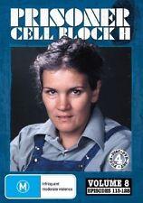 Prisoner - Cell Block H : Volume 8 - Episodes 113-128 (DVD, 4-Disc Set) NEW