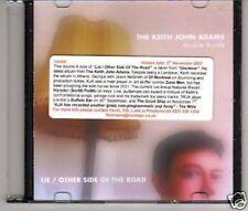 (A381) The Keith John Adams, Lie - DJ CD