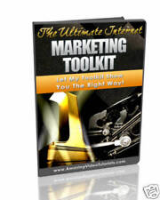 The Ultimate Internet Marketing Toolkit videos on CD