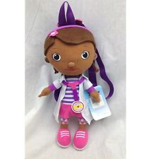 """Nwt Doc McStuffins Plush Backpack Bag Doll Licensed by Disney 15"""" Tall Authentic"""