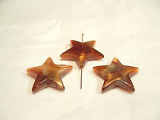 10 Piezas X golden/aut Abalorios acrílicos: aut02 Star