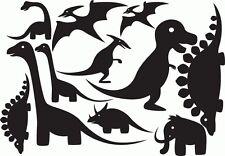 11 Mix Dinosaurs vinyl Sticker's