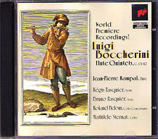 Jean-Pierre RAMPAL: BOCCHERINI 5 Flute Quintet SONY CD Pasquier SONY 1997