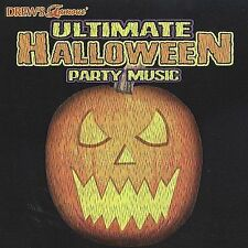 🦊 Drew's Famous Ultimate Halloween Party Music by Drew's Famous (CD, Jul-2002,