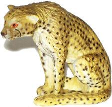 Aaa 55006 Small Cheetah Sitting Wild Animal Toy Model Figurine Replica - Nip