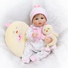 17inch Reborn Baby Dolls Realistic Cute Newborn Doll Lifelike Pink Toddler Girl