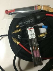 Water Cooled Tig Torch Whole Kit Lincoln 20H-320-25R. K1622-5 + K4168-2 + KP510.