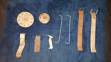 ASSORTED PARTS MILLS / JENNINGS /PACE ORIGINAL COIN RAMPS GEARS  ANTIQUE SLOT 'B
