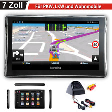 7 pulgadas navegador camara de vision trasera turismos Navi navegación GPS radar camiones de BT