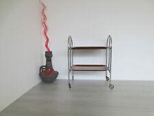 Servierwagen Teewagen Klappbar Beistelltisch 60er Jahre Bremshey Dinett
