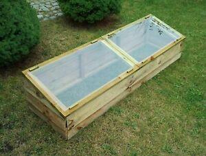 Zest Large Wooden Cold Frame  00442