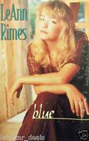 LeAnn Rimes Blue Cassette 1996