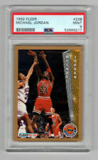 Michael Jordan 1992 Fleer Basketball #238 PSA 9 Mint 9217