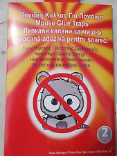 20 X Trapper  Sticky Glue Mice Traps Board Rodent Mouse Rat Bugs Safe #20