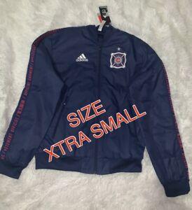 $90 NEW Adidas Chicago Fire MLS Men Sideline Full-Zip Anthem Track Jacket XS