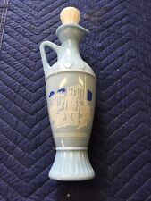 Vintage 1960S Light Blue Whiskey Liquor Decanter