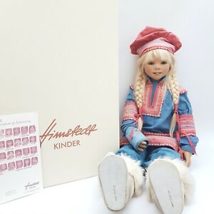 """Annette Himstedt 2005 Kinder Collection """"Katiina"""" Doll Inc. COA and Box - RARE"""