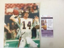 Brad Johnson Minnesota Vikings Signed / Autographed 8x10 Photo JSA # T89598