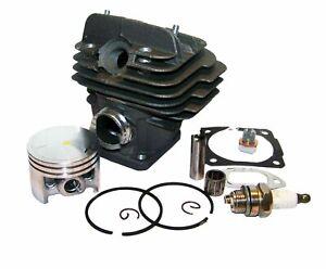 Compatible Stihl 026 Ms 260 Cylindre 44.7MM Avec Joints & Pièces As Montré