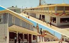 Ocean City Maryland Trimpers Amusements Multiview Vintage Postcard K35724