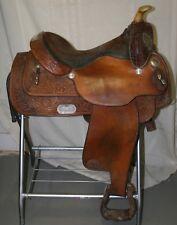 """USED Circle Y Western Equitation Show Saddle - 15"""" seat (Yoakum, TX)"""