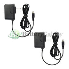 2x HOT! NEW Travel Battery Home Charger MP3 for Creative Zen MicroPhoto V Plus