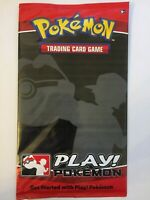 Pokemon Oversized Factory Sealed Booster Pack | Rare | Promo Item
